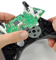 xbox 360 wireless controller logic board replacement [ 2671 x 2003 Pixel ]
