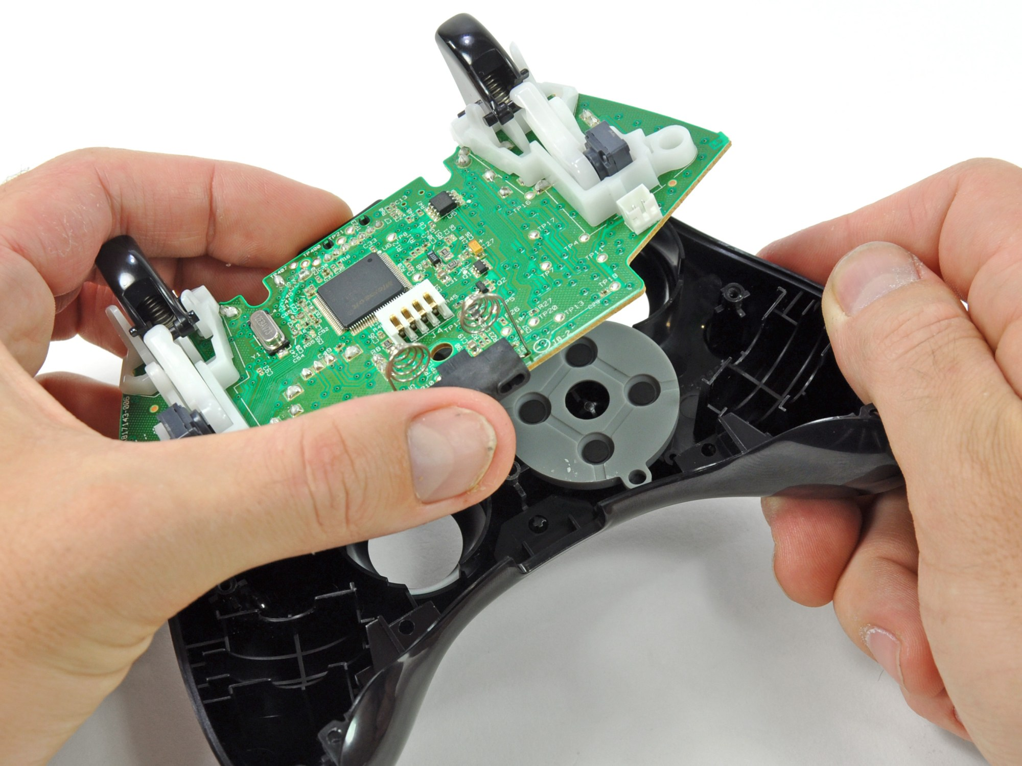 hight resolution of xbox 360 wireless controller logic board replacement