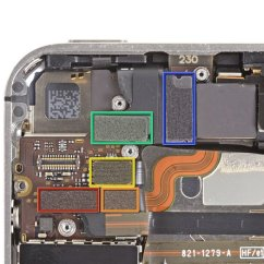 Iphone 4 Screw Layout Diagram Gm 3 Wire Alternator Placement Wiring And Electrical Verizon Parts Free Engine Image 4s Disassembly Template