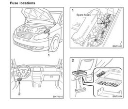 2006 Toyota Land Cruiser Fuse Diagram, 2006, Free Engine