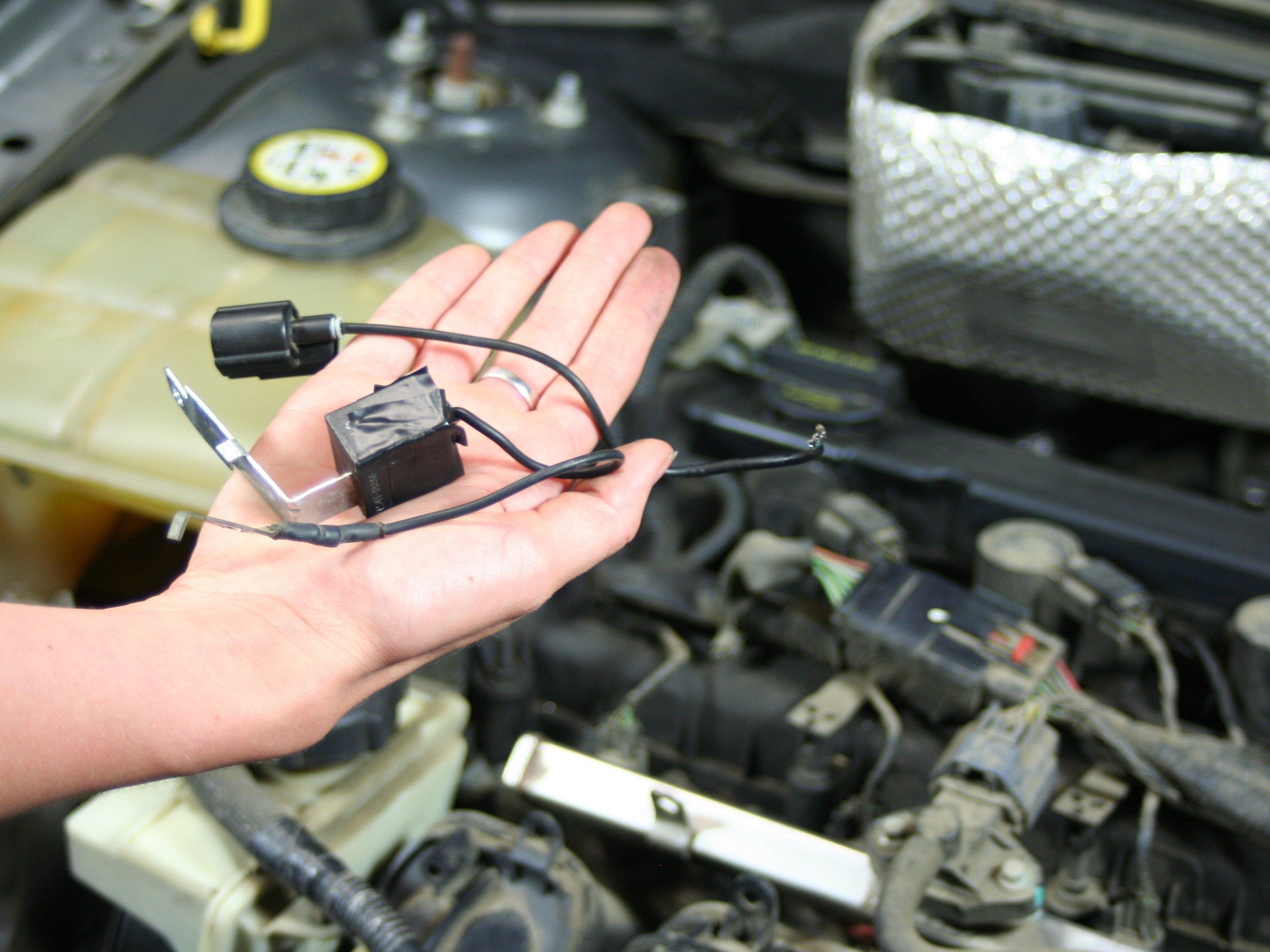 Ford Econoline Engine Diagram Ford Focus Radio Suppression Capacitor Replacement