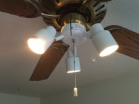 Ceiling Fan Light Fixture Replacement