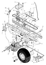 Murray 42 Inch Riding Mower Drive Belt Diagram : murray, riding, mower, drive, diagram, SOLVED:, Diagram, Install, Murray, Riding, Mower, IFixit