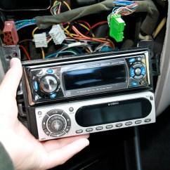 2002 Honda Civic Car Stereo Radio Wiring Diagram Volkswagen Transporter T5 Disassembling 1998 Accord Head Unit