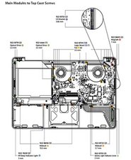 2008 MacBook Pro Screw diagram where can I find a screw