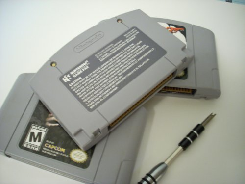 small resolution of disassembling nintendo 64 cartridge