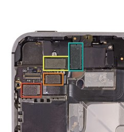 iphone 4 diagram logic board [ 3306 x 2480 Pixel ]