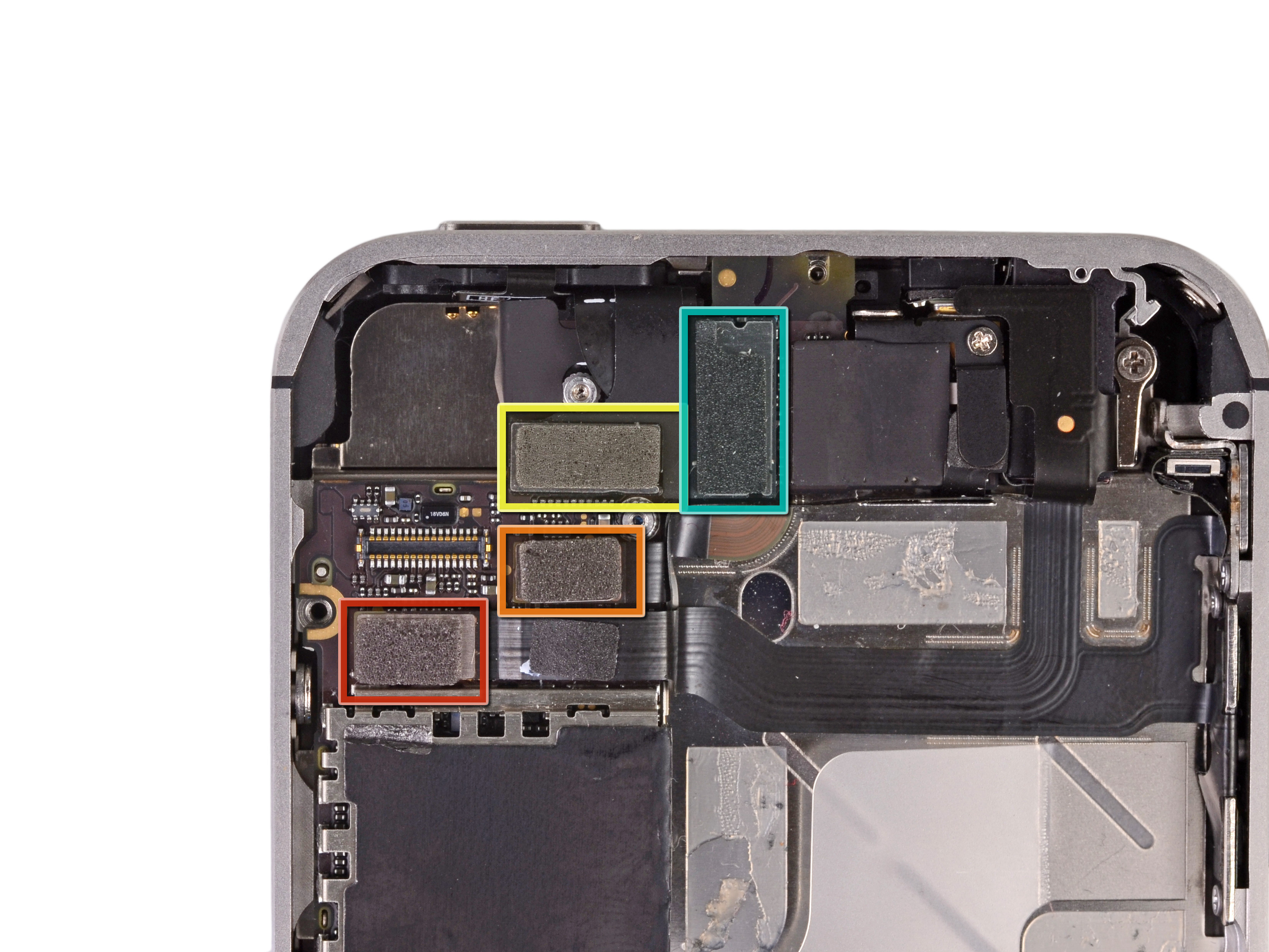 back of iphone 4s diagram ceiling fan wiring logic board replacement ifixit repair guide