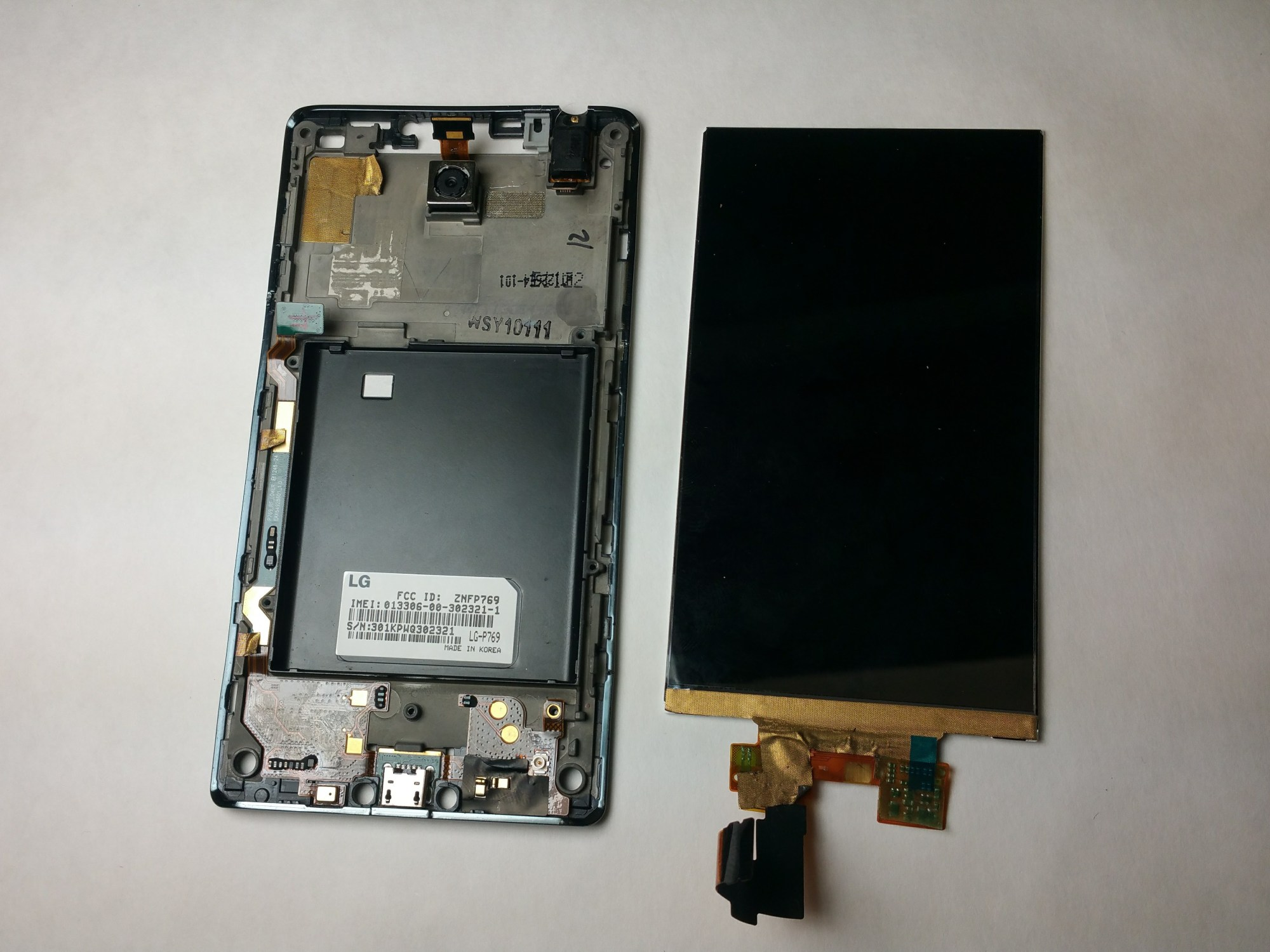 hight resolution of lg optimus l9 p769 display screen replacement ifixit repair guide