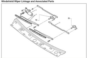 SOLVED: How do I replace the windshield wiper linkage in