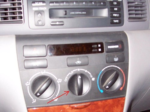 small resolution of repairing toyota corolla dashboard clock