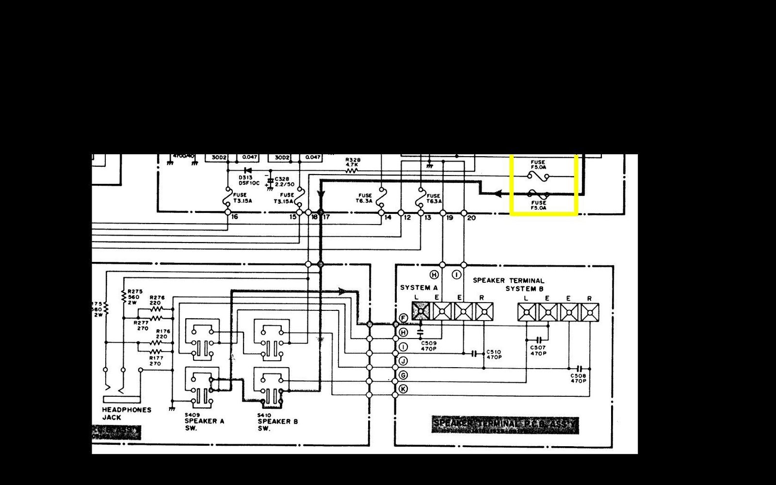 hight resolution of fisher stereo wiring diagram 270