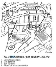Map Sensor Location Jeep Liberty Map Sensor 2010 Viper