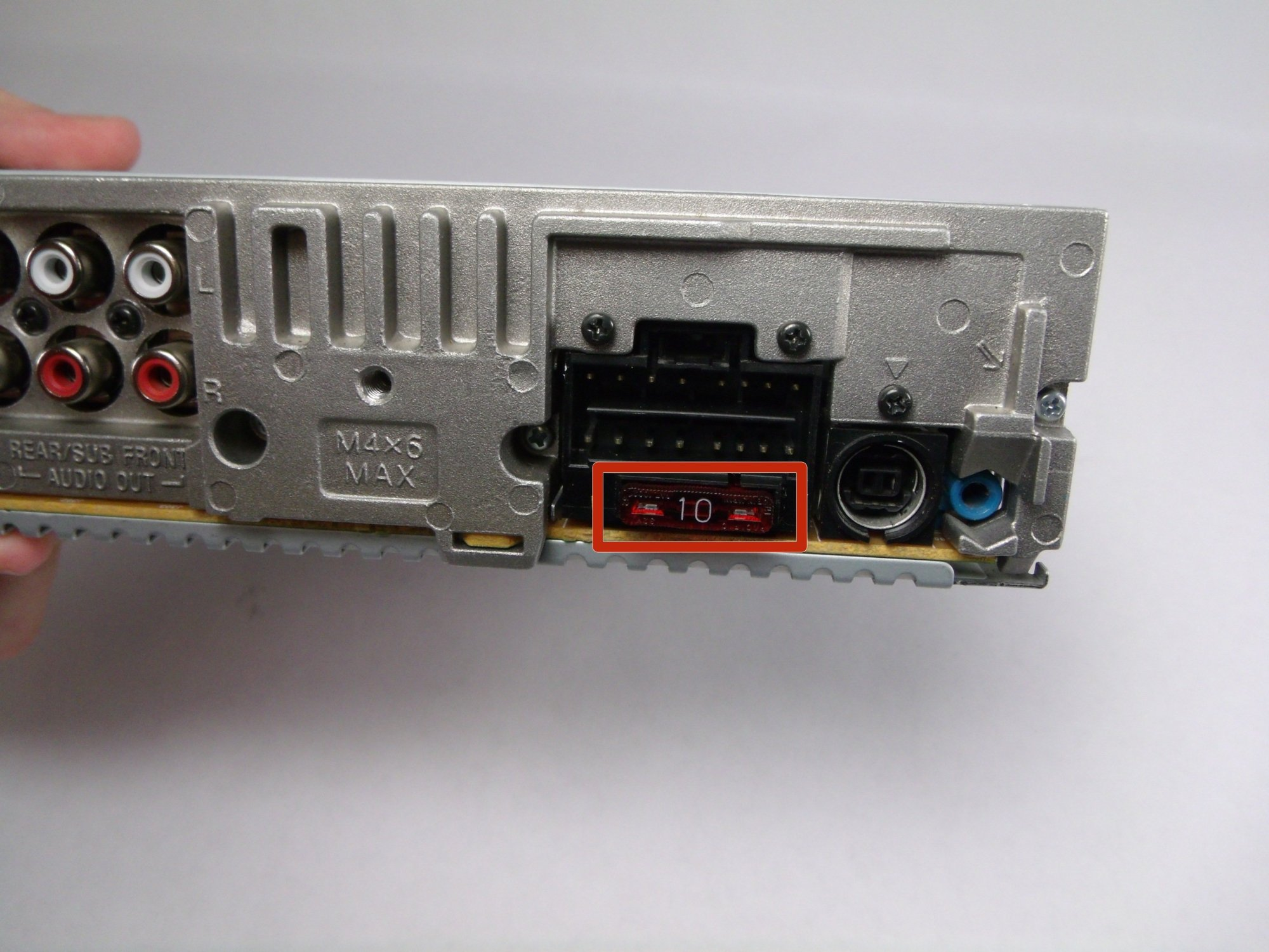 hight resolution of sony cdx gt540ui fuse replacement