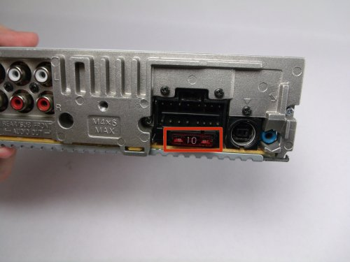 small resolution of sony cdx gt540ui fuse replacement