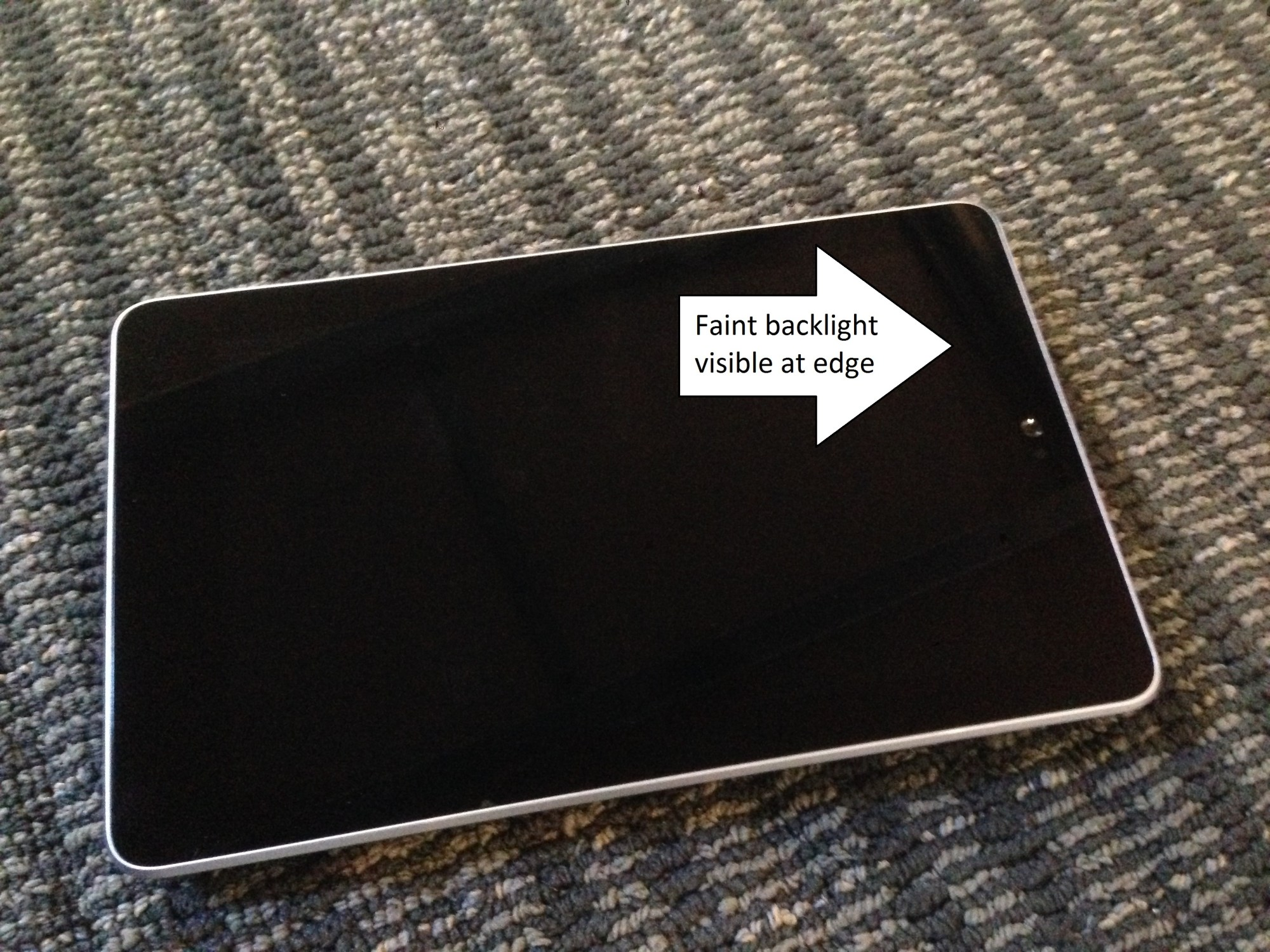 hight resolution of nexus 7 black screen fix
