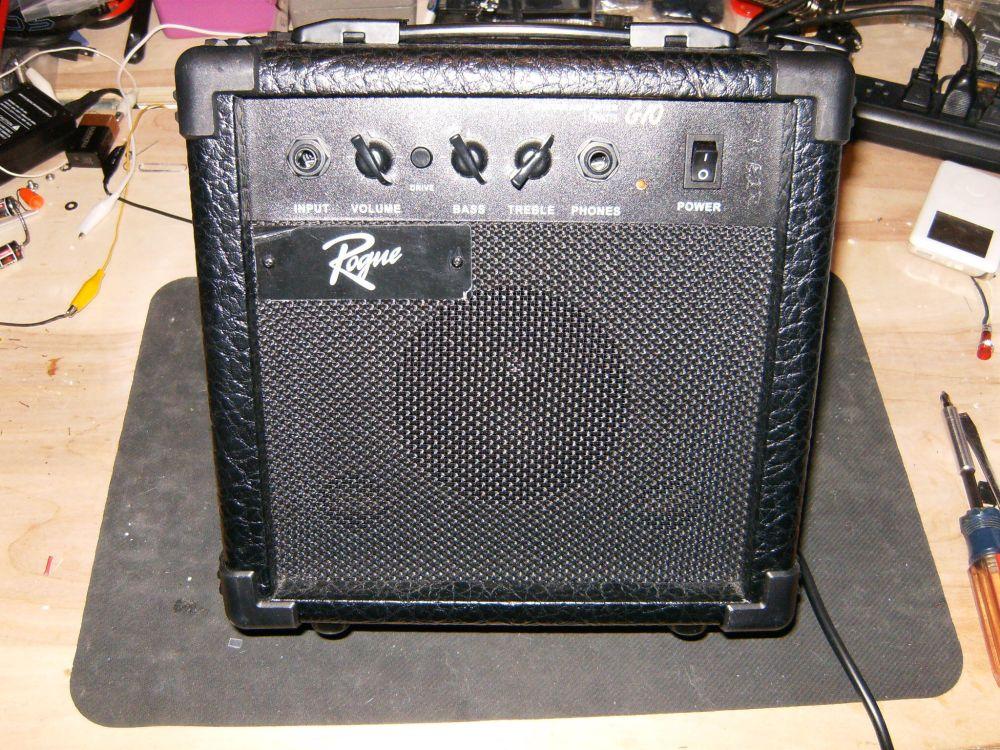 medium resolution of repairing the audio amplifier