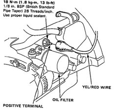 Oil Sensor Sensor Wire Harness K20a3 : 36 Wiring Diagram