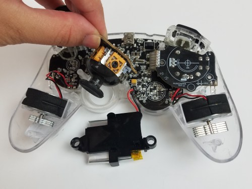 small resolution of afterglow wireless ps3 controller joystick replacement