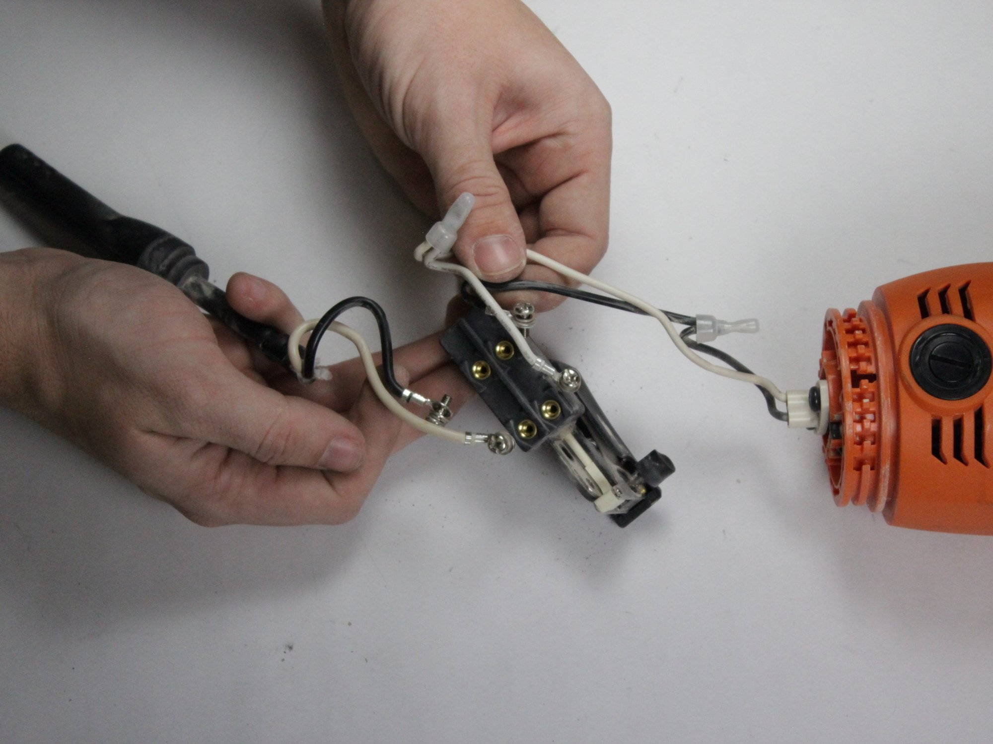 hight resolution of ridgid angle grinder r10202 wiring assembly replacement
