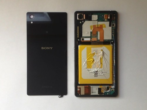 small resolution of rear battery cover sony xperia