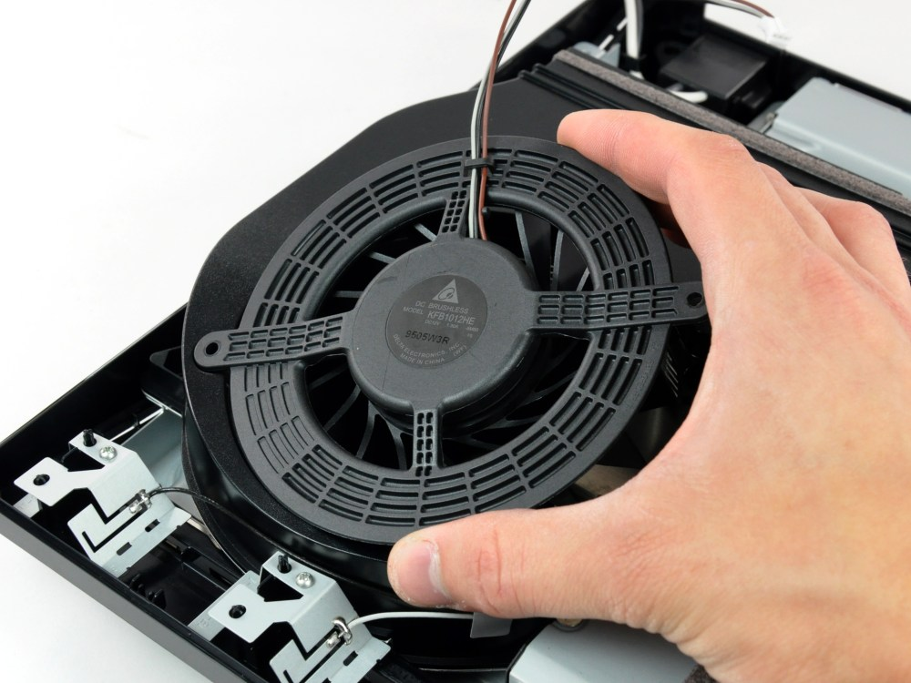medium resolution of playstation 3 slim fan replacement ifixit repair guide sony ps3 fan wiring diagram