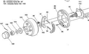 Ezgo Rear Axle Diagram Ezgo Motor Diagram Wiring Diagram