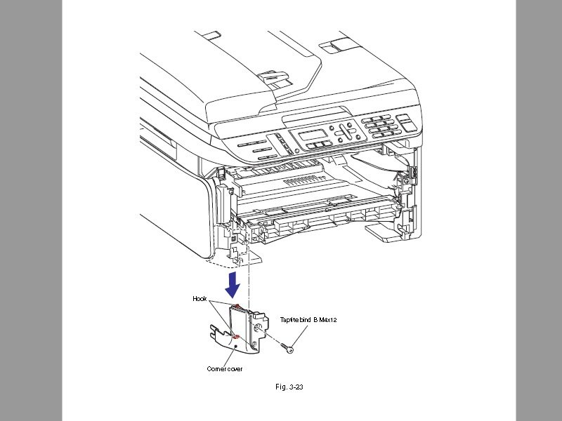 How to Fix Continuous Jamming in Printer, Brother MFC