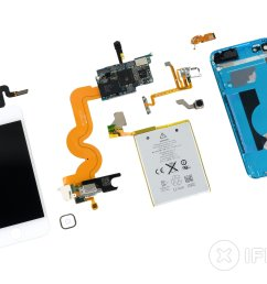 ipod touch 5th generation teardown [ 3360 x 2520 Pixel ]