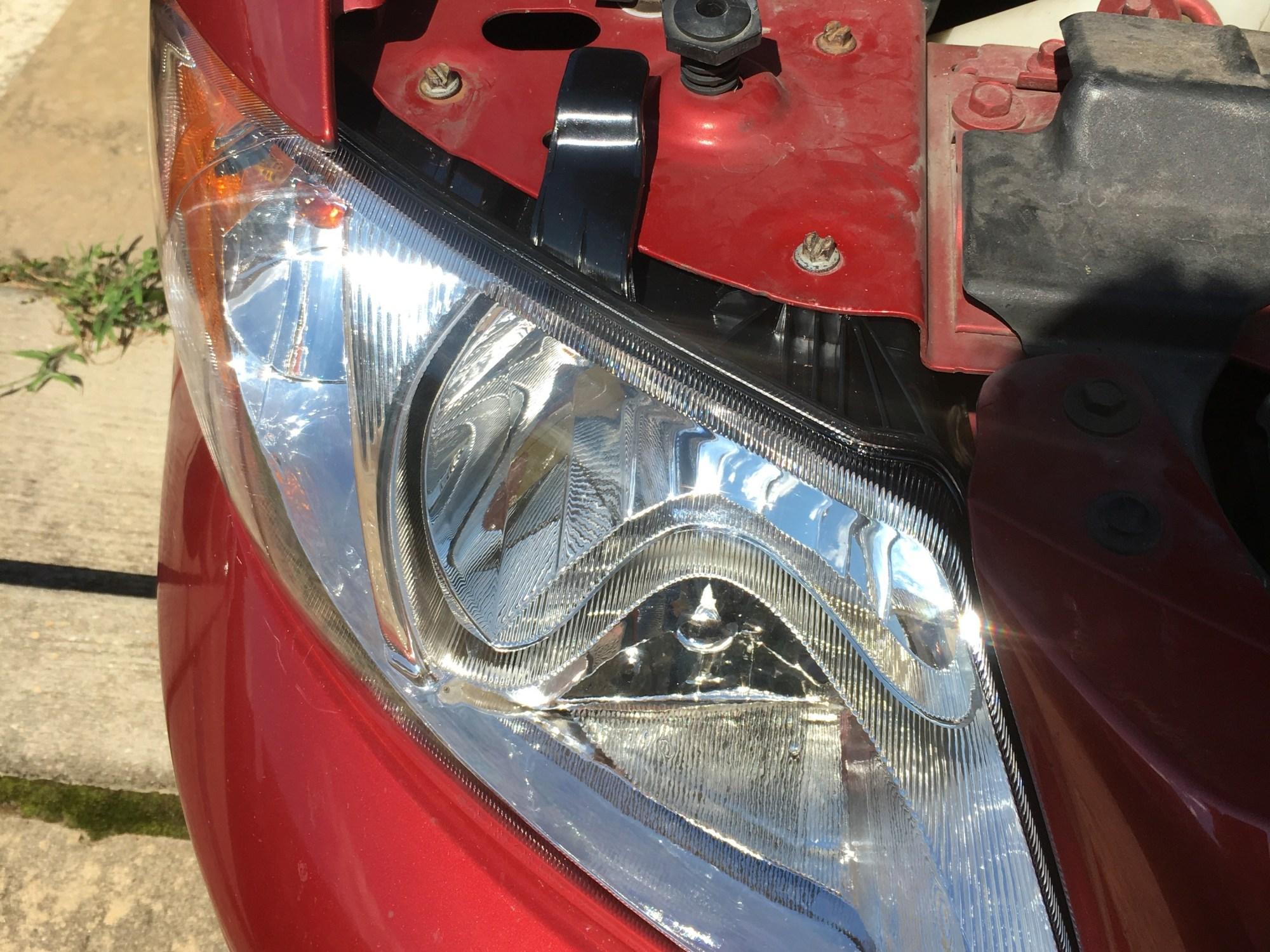hight resolution of passenger side headlight