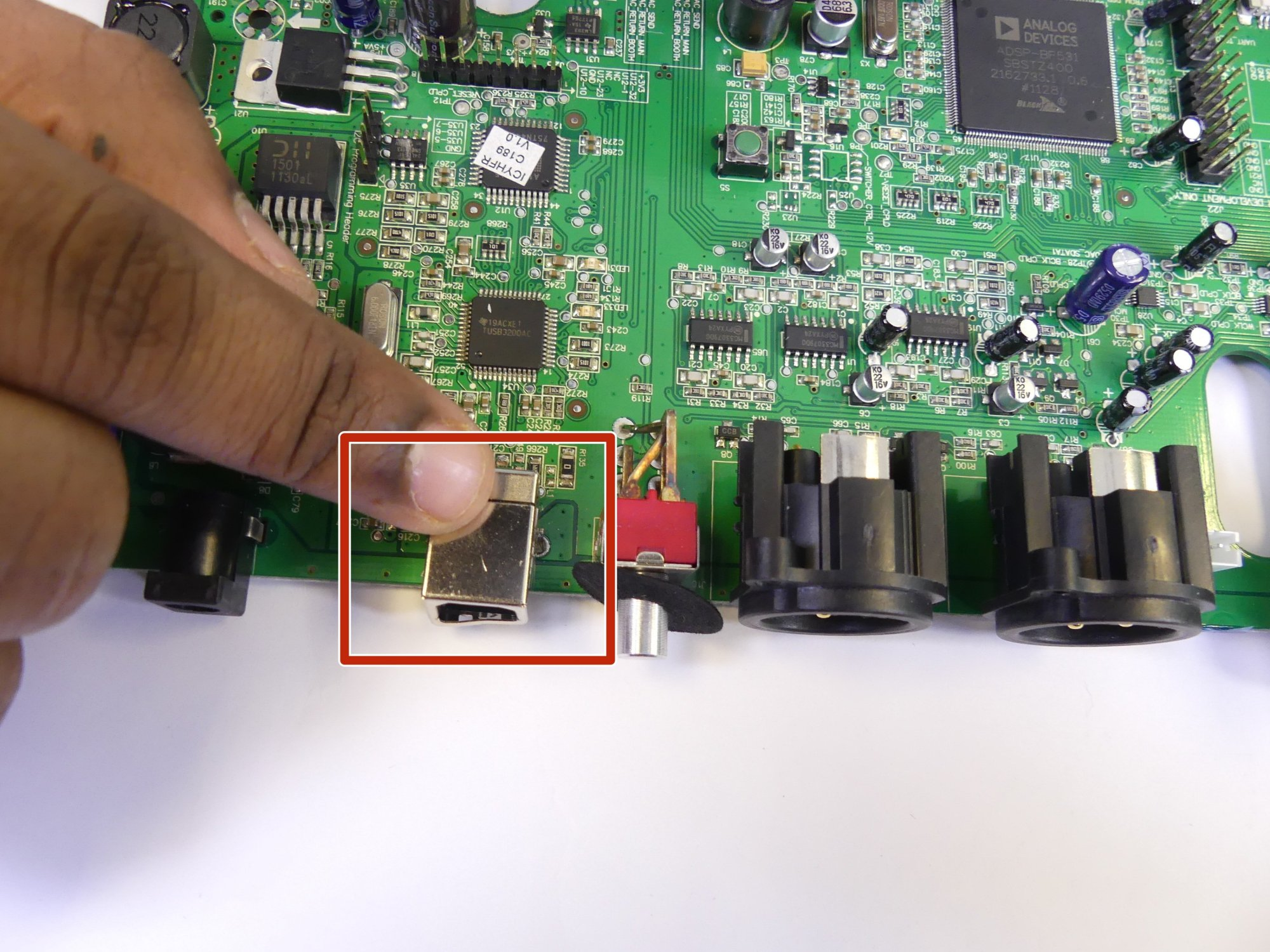 hight resolution of numark n4 usb port replacement