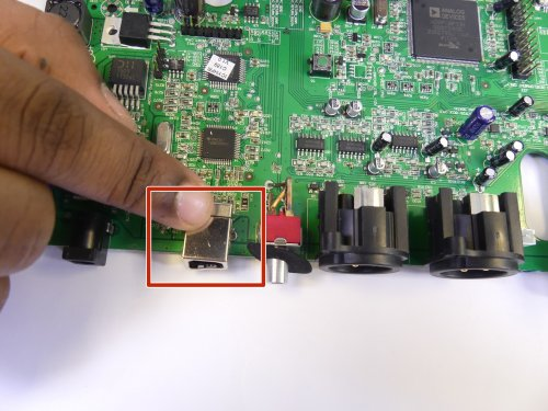 small resolution of numark n4 usb port replacement