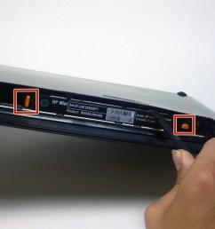 disassembling hp mini 210 back case [ 3072 x 2304 Pixel ]