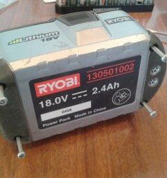 cell re balance of ryobi one 18v li ion battery 130501002  [ 2560 x 1920 Pixel ]