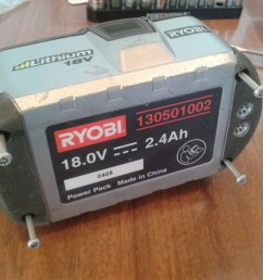 cell re balance of ryobi one 18v li ion battery 130501002 ifixit repair guide [ 2560 x 1920 Pixel ]