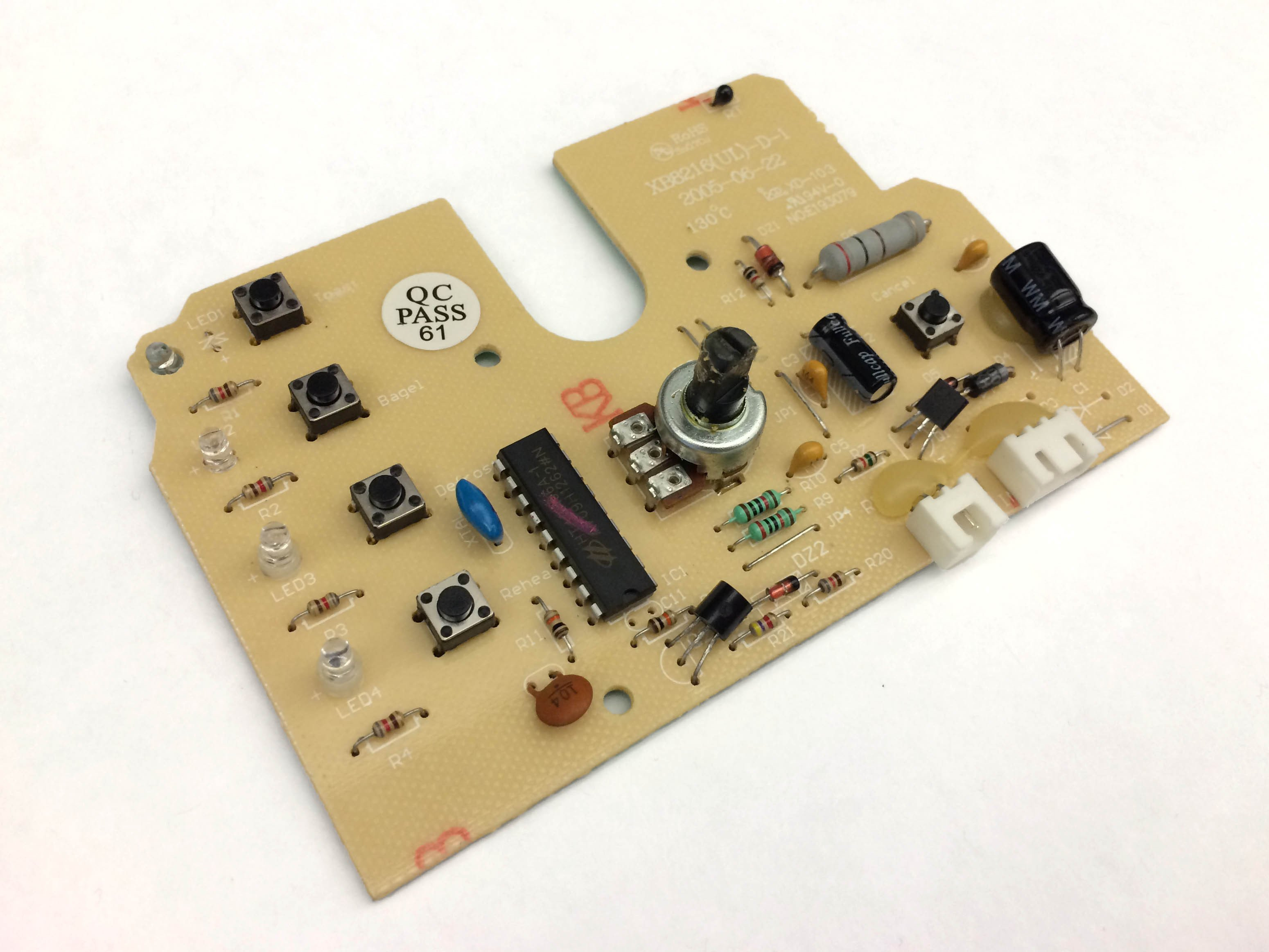 Oster 6329 Circuit Board Resistor Replacement Ifixit