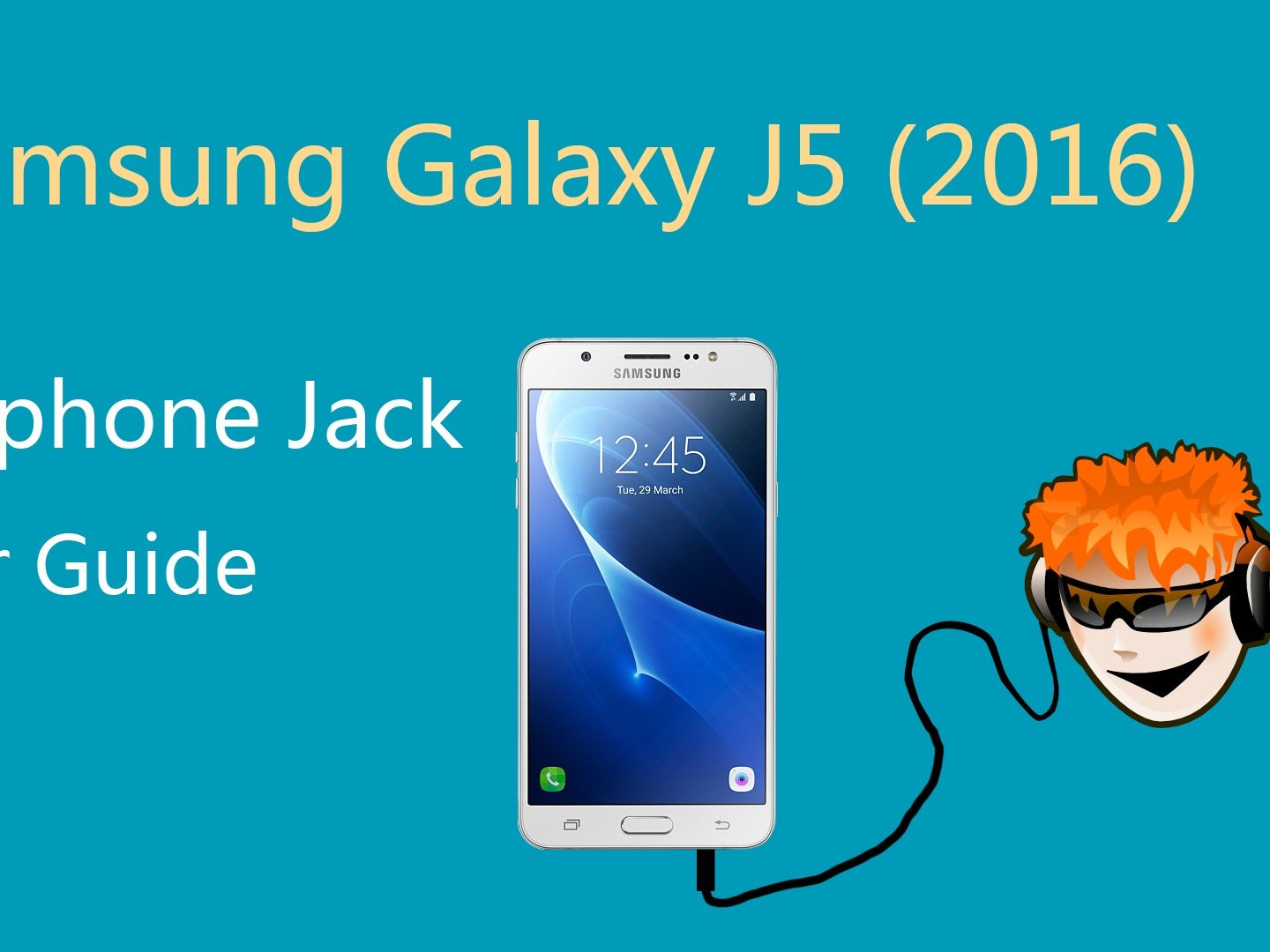 hight resolution of how to repair samsung galaxy j5 2016 headphone jack