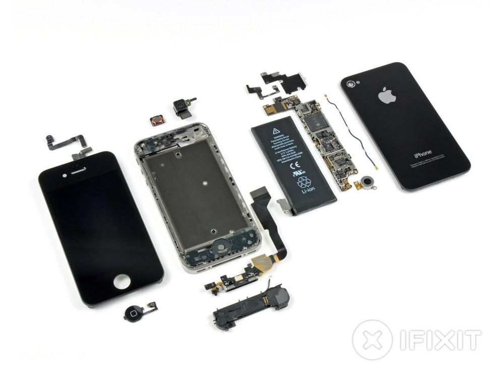 medium resolution of iphone 4 verizon teardown ifixit iphone 5 inside detailed diagram iphone 4 inside diagram