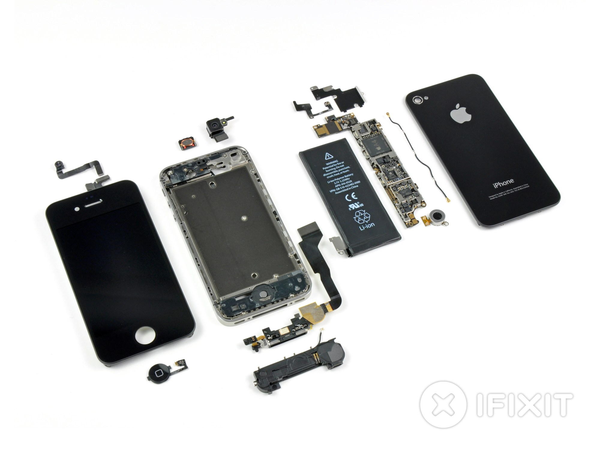 hight resolution of iphone 4 verizon teardown ifixit iphone 5 inside detailed diagram iphone 4 inside diagram