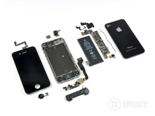 small resolution of iphone 4 verizon teardown ifixit iphone 5 inside detailed diagram iphone 4 inside diagram