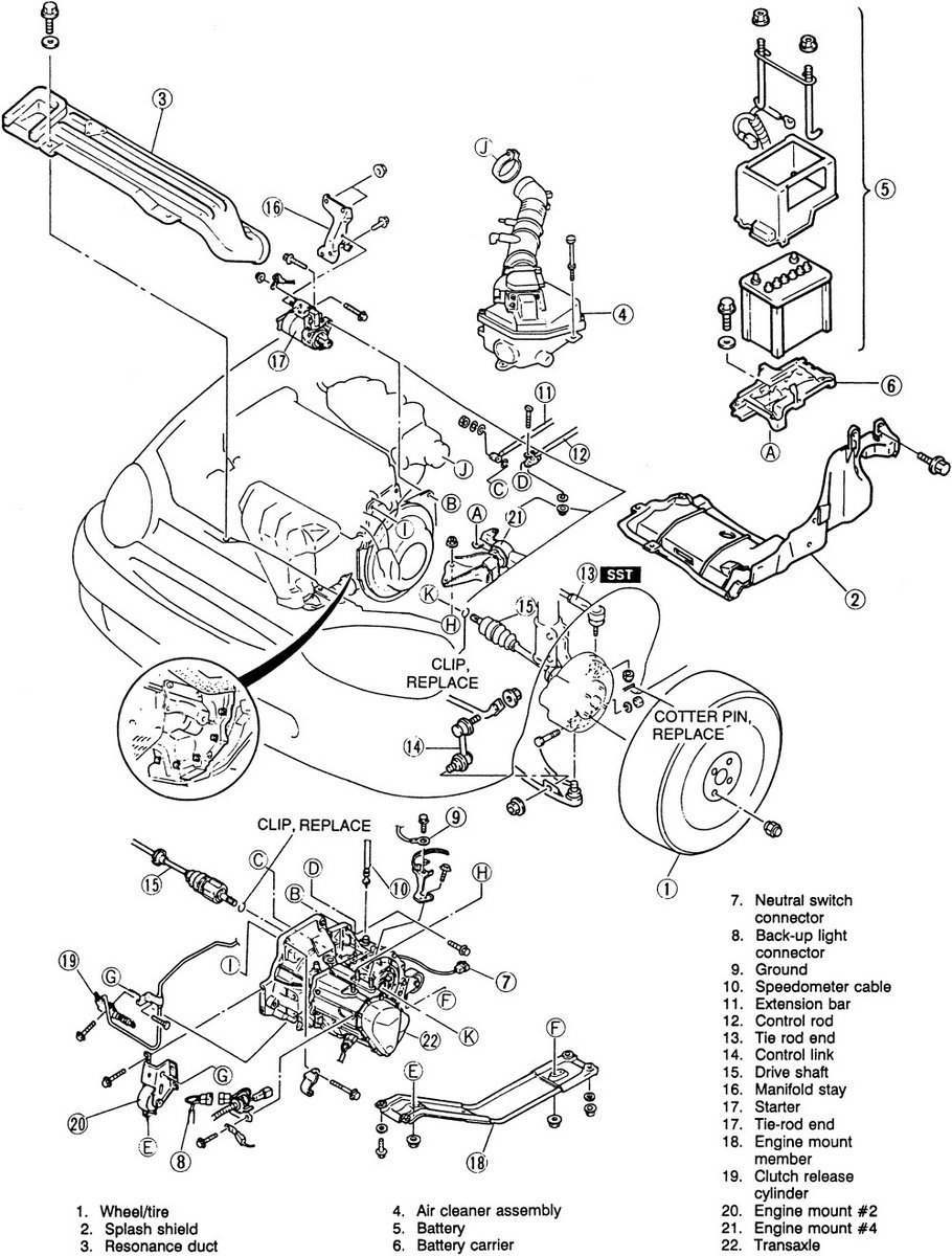 Astonishing mazda protege 2 0 engine diagram gallery best image