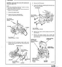 Honda Belt Replacement Honda Alternator Wiring Diagram