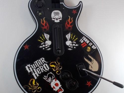 small resolution of les paul wireless guitar body teardown