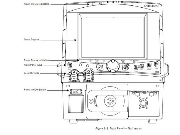 Philips Respironics V200 Esprit Oxygen Inlet Filter
