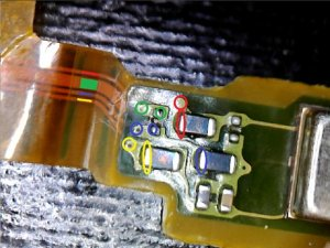 How to repair a broken flex cable (Sony Xperia Z1