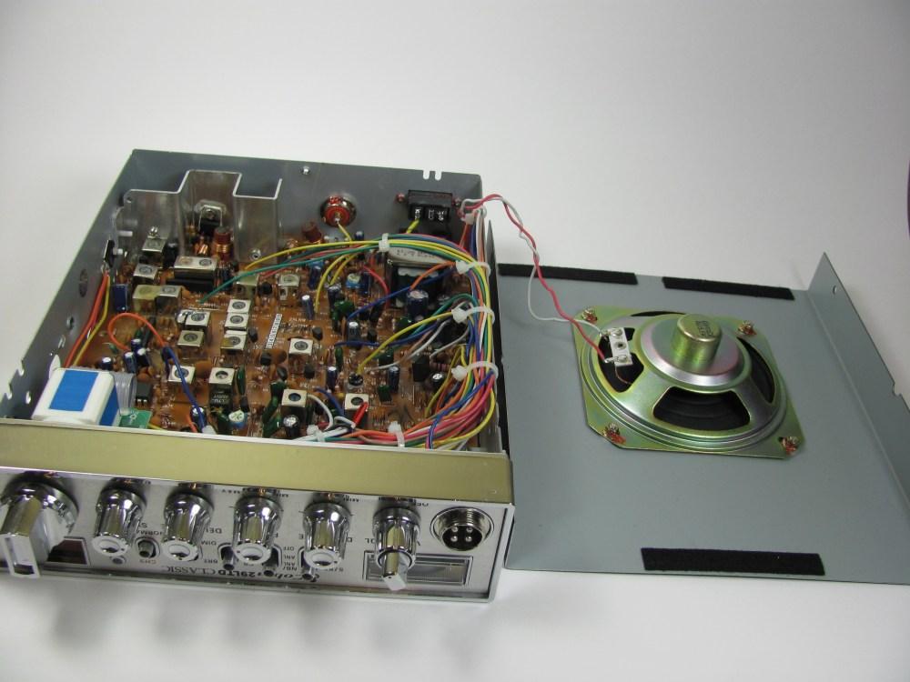 medium resolution of cobra 29 ltd classic internal speaker replacement