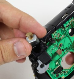 xbox one wireless controller trigger rumble motor replacement ifixit repair guide [ 2380 x 1785 Pixel ]
