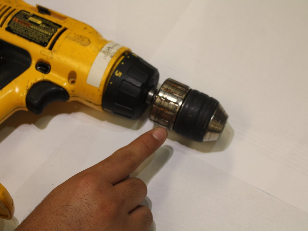 medium resolution of dewalt dw997 drill chuck replacement