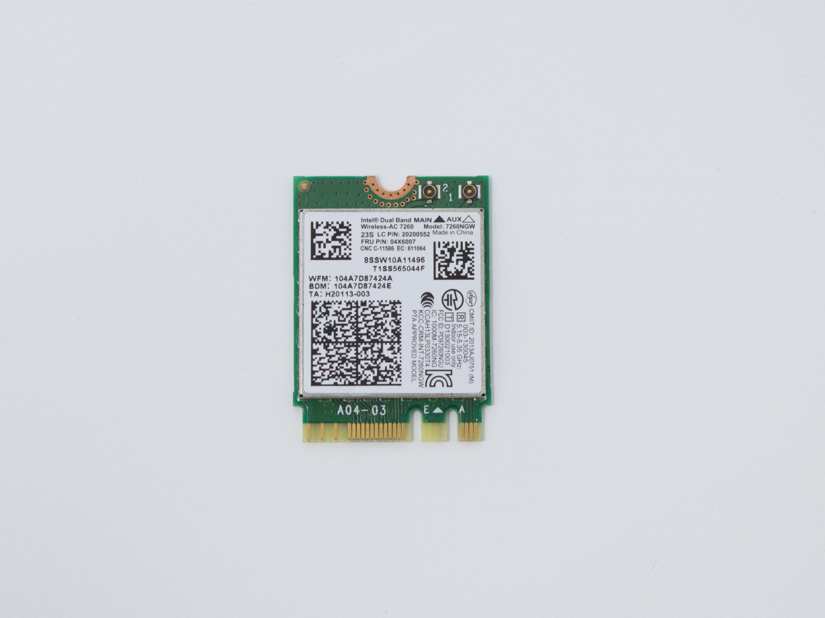 Lenovo N20p Chromebook WLAN & Bluetooth Replacement