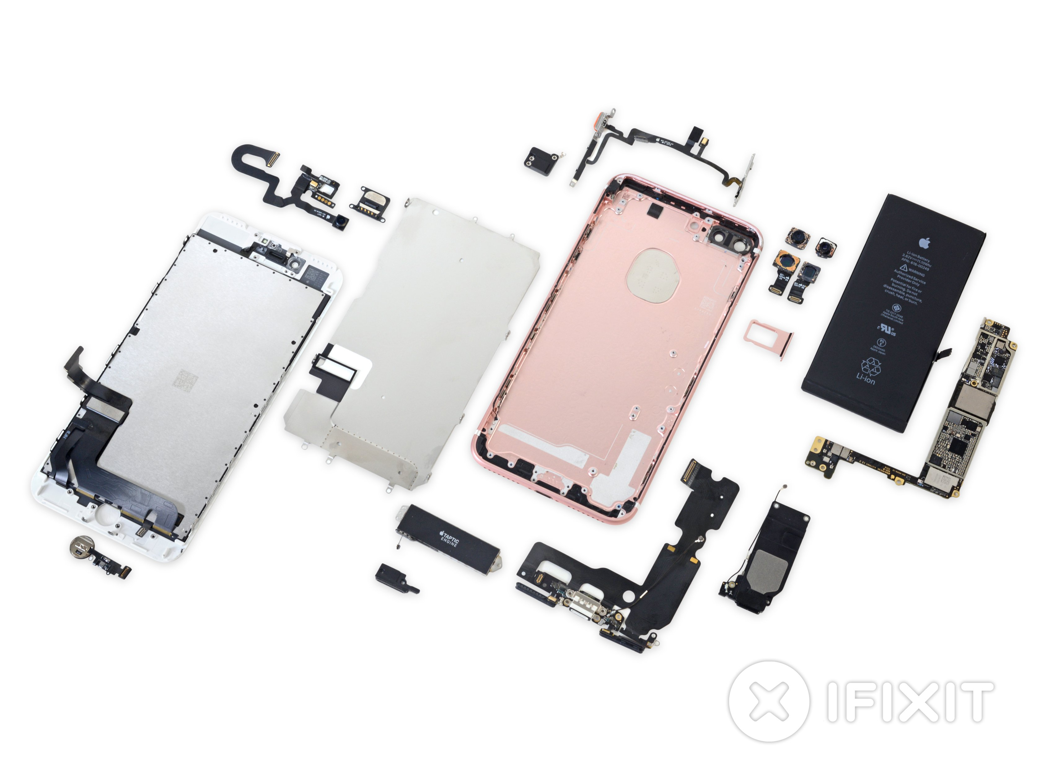iphone 4 screw layout diagram autometer sport comp wiring 7 plus teardown ifixit